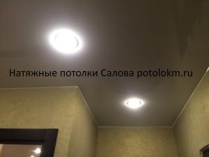Натяжные потолки бежевые