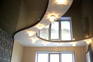 Правильное освещение натяжного потолка