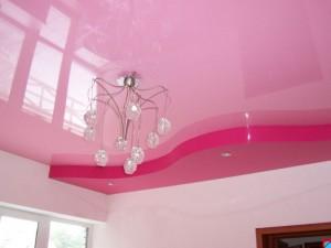 Действительно ли вреден натяжной потолок?