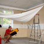 Натяжные потолки с нагревом и без