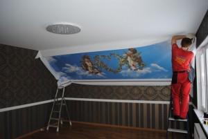 Как выбрать натяжной потолок в СПб?