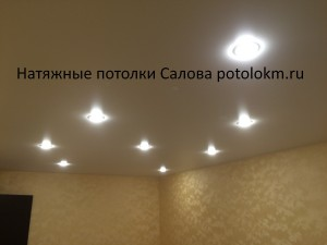 Натяжные потолки Салова7-1