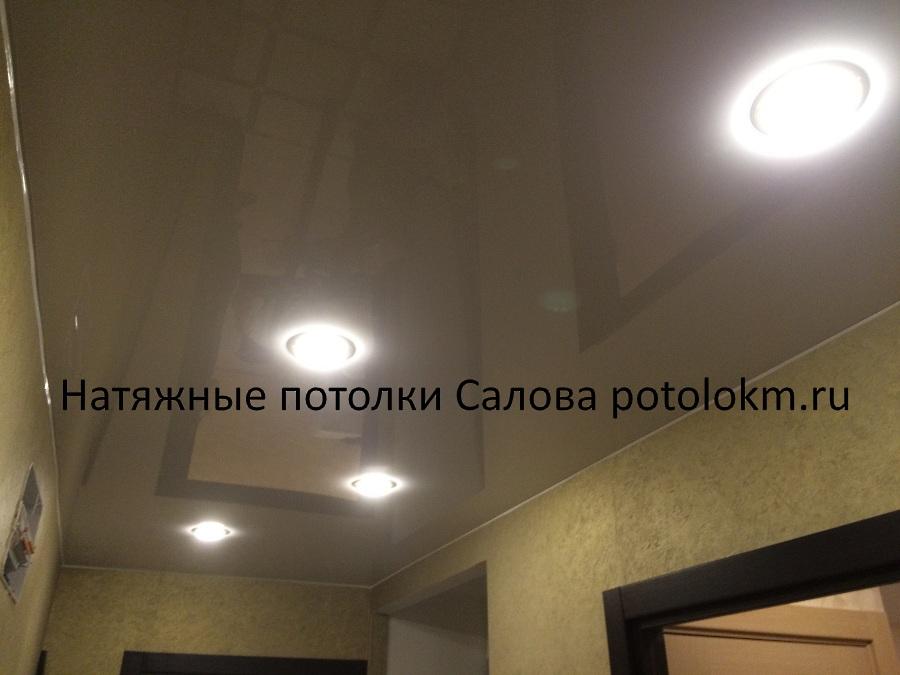 Натяжные потолки для дома гостиная